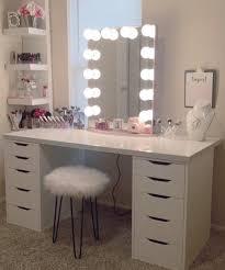lack shelf alex drawers ikea makeup