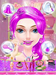 pink princess makeup salon spa