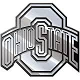 Amazon Com Mvp Accessories Ohio State Buckeyes Metal Auto Emblem With Colored Team Logo Ohio State Car Emblem Sports Outdoors