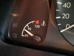 my car rature gauge not working