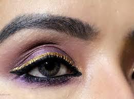 gold smokey eye makeup tutorial