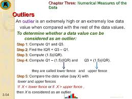 Statistics Data Description Data Summarization Numerical Measures Of The Data Online Presentation