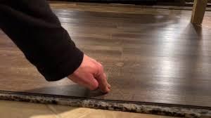 installing vinyl plank flooring over