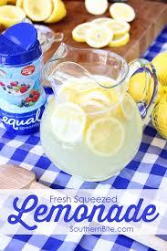 fresh squeezed lemonade southern bite