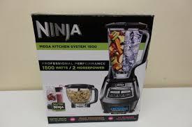 ninja mega kitchen system blender food