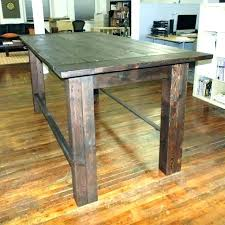 bar height table diy nyoro info