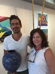 Adam Russell and his art! - Picture of Key West Pottery - Tripadvisor