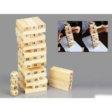 Bộ đồ chơi rút gỗ, đồ chơi gỗ thông minh, trò chơi rút gỗ Wiss Toy ...