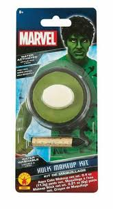 green the hulk body makeup for fancy