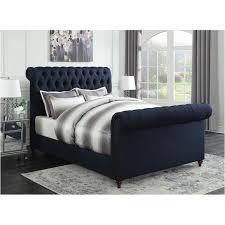 300653f Coaster Furniture Gresham Navy Blue Kids Room Full Bed