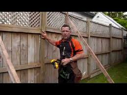How To Repair A Leaning Fence Mitre 10 Easy As Diy Youtube