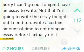 i cant write essays invent a