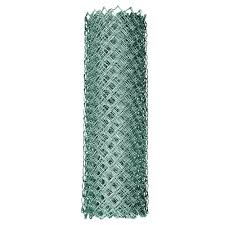 Yardgard 4 Ft X 50 Ft 11 5 Gauge Galvanized Steel Chain Link Fabric 308704a The Home Depot Fence Fabric Chain Link Fence Gate Chain Link Fence Cost