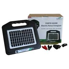 Business Office Industrial Agriculture Farming Electric Fence Energiser Solar Powered 0 2j Unit Rechargeable Battery Included Livestock Supplies Ankom Com Ua