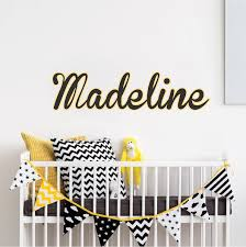 Custom Bedroom Name Decal Personalized Wall Stickers Primedecals