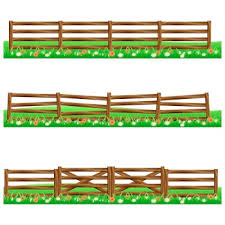 You Searched For Cartoon Rural Wooden Fence In Green Grass Vector Illustration Wood Farm Fence Outdoor Cartoon Rural Wooden Fence In Green Grass Vector Illustration