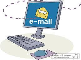 Email etiquette clipart