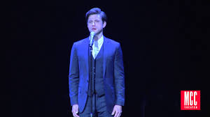 Aaron Tveit sings 'As Long as He Needs Me' from Oliver! - YouTube