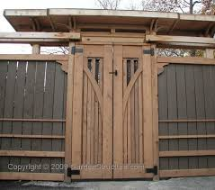 Asian Inspired Privacy Fence With Gates Fence Gate Design Fence Design Wooden Fence