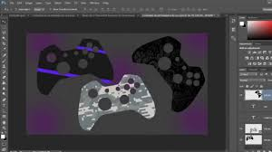 Xbox One Controller Decal Template W Download Youtube