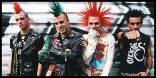 80 s style splatter punk horror