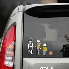 First Look Original Series Family Car Decals