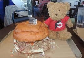 papa buck s pigzilla sandwich challenge