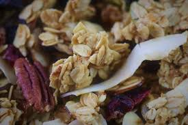 crunchy homemade granola healthy and
