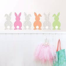 Dwpk2405 Bunch Of Bunnies Wall Art Kit By Wallpops