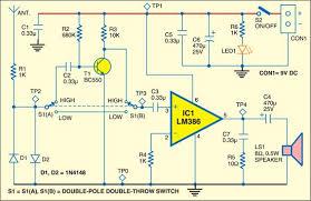 rf signal detector full circuit