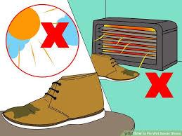 fix wet suede shoes suede shoes