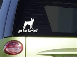 Got Rat Terrier I755 6 Inch Sticker Dog Decal Walmart Com Walmart Com