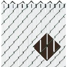 Pexco 6 Ft H X 70 In L 82 Pack Brown Chain Link Fence Privacy Slat In The Chain Link Fence Slats Department At Lowes Com