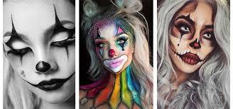 halloween clown makeup looks ideas