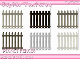 Second Life Marketplace 6 Picket Fence Textures