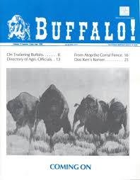 National Buffalo Association Publication Archives National Bison Association