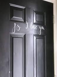 How To Make Front Door Decals Create And Babble