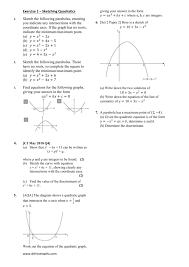c1 igcse further maths sketching