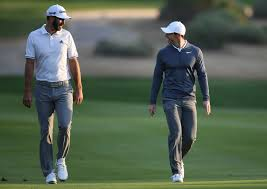 Dustin Johnson and Rory McIlroy prepare for golf's return to TV ...