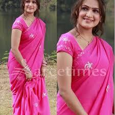 Aditi Agarwal in Pink Saree   sareetimes