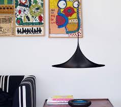 design lamp semi pendant by gubi in