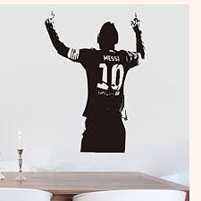 Amazon Com Messi Football Barcelona Soccer Wall Decals Vinyl Decor Stickers Everything Else