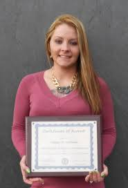 Ashley Walls Williams 2016 Ida Hill Scholarship - VAACE