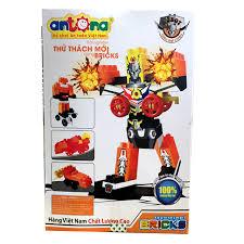 Bộ Đồ Chơi Xếp Hình Robot Siêu Đại Chiến Antona
