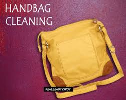 how to clean leather bags or purses