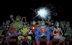 marvel ics dc ics superheroes