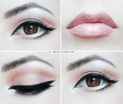 manga eyes makeup cat eye makeup