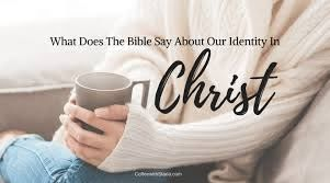 Identity in Christ Bible Verses ~ Coffee With Starla