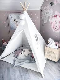 Kids Teepee Play Tent 100 Cotton Canvas Children Tipi Playhouse Indoor Room Outdoor Toy Boys Girls Baby Gift Raw White With Mat Toy Tents Aliexpress