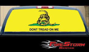 Price Comparisons Gadsden Flag 22 X 65 Rear Window Graphic Truck Suv Decal Tint Film Truck Grandisonvzfzg